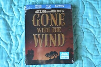Gone With the Wind RARE Blu-ray Limited Edition Steelbook NEW
