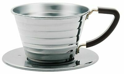 Kalita Wave Stainless Dripper Pour Over Drip for 1-2 cups #04021