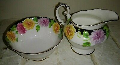 Paragon By Appointment Cream And Sugar Dish Lovely Set