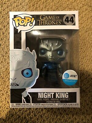 Funko Pop! Game of Thrones #44 Metalic Night King AT&T Exclusive In Hand Mint