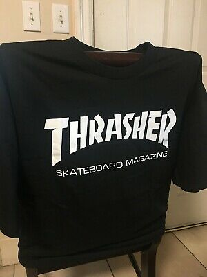 Thrasher Black T High Quality Brand New Alstyle T shirt Available in S-2XL