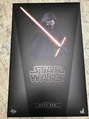 Hot Toys STAR WARS KYLO REN MMS320 Movie Masterpiece 1/6 Scale Collectible