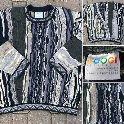 Vintage COOGI Sweater Made In Australia L