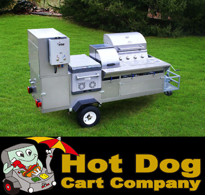 Hot Dog Cart Vending Concession Trailer Stand New The Bullet Hot Dog Cart