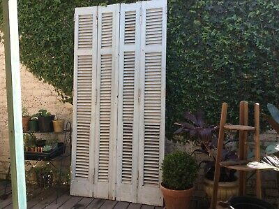 Antique French door shutters Architectural salvage Argentina 1800's