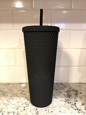 Starbucks Fall 2019 Matte Black Studded Tumbler 24oz Limited Edition