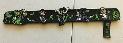 Disney Parks Happy Halloween 2019 Snap Band Bracelet Mickey Vampire NWT