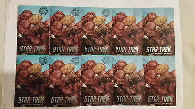 Set of 10 Dave and Busters Star Trek Tribbles Rare Cards - The Original Series