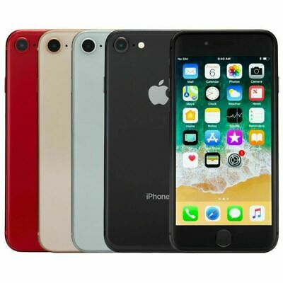 Apple iPhone 8 64GB/256GB Factory Unlocked AT&T / T-Mobile Silver Gray Gold Red