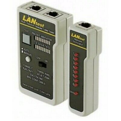Astrotek ATP-TOOL-CT RJ45 RJ11 Coaxial Network Ethernet LAN Phone Cable Test WP.