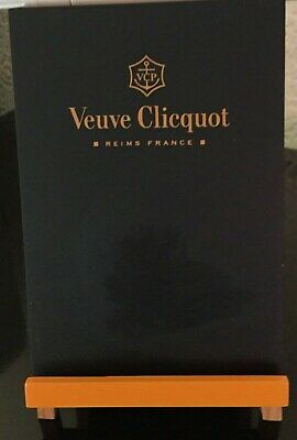 Veuve Clicquot Champagne Easel Style Black Board New In Voile Bag