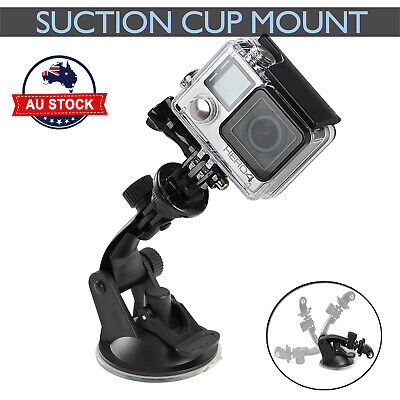 Car Suction Cup Gopro Accessories Windshield Mount Window Holder GoPro 3+ 4 5