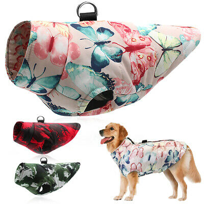 Waterproof Pet Winter Clothes Medium Large Dogs Coat Small Dogs Jacket Labrador