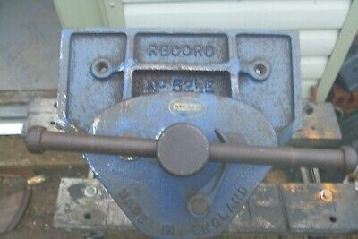 "Record Vice No 52 1/2 E Woodworking Quick Release 9"" Jaws 13"" Opening Depth"
