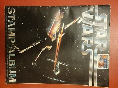 Vintage 1977 Star Wars Postage Stamp Album
