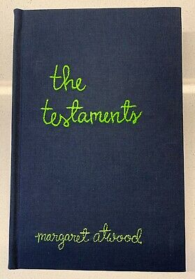 Margaret Atwood - The Testaments Rare SIGNED Ltd Ed copy BOOKER WINNER