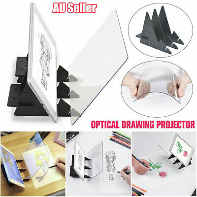 Optical Image Drawing Board Sketch Reflection Dimming Painting Mirror Plate HOT