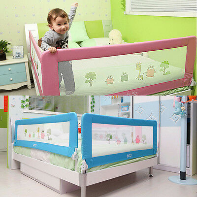 Child Toddler Bed Rail Baby Bedrail Fold Cot Protective Safe 150cm/180cm AU POST