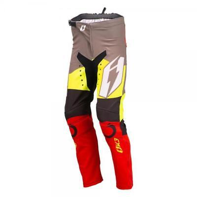 Oset Jitsie Kids Childs Trials Trousers Bottoms Red Grey Clothing Riding Small