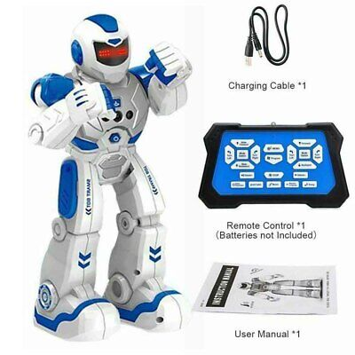RC Remote Control Smart Intelligent Robot Action Infrared Gesture Sensor Kid Toy