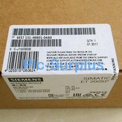 1PC New In Box Siemens 6ES71314BB010AB0 6ES7131-4BB01-0AB0 Digital Input Module