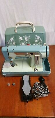Jones Vintage Portable Electric Sewing Machine in Case