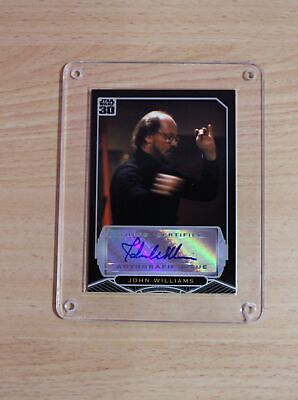 Topps Star Wars 30th Anniversary - John Williams Autograph Card