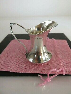 Fine Early Art Deco Sterling Silver Liquor Decanter Shot Cup, England, c1916