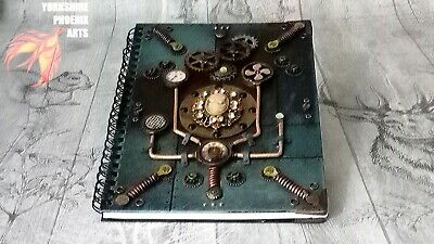 Steampunk notebook journal diary cosplay 3D LARP gift