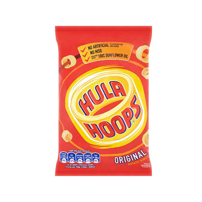 Hula Hoops Ready Salted Std - Case Qty - 32