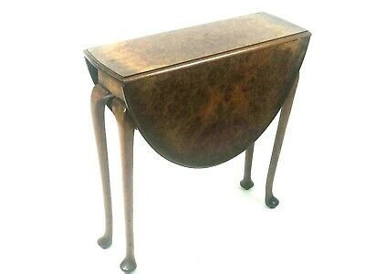 Antique Walnut Sutherland Drop Leaf Occasional Table [5595]