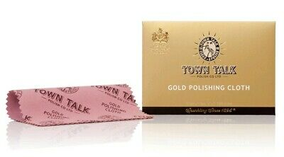 Gold jewellery polishing cloth by Town Talk 5x7