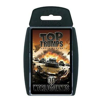Topt Trumps World Of Tanks Card Game