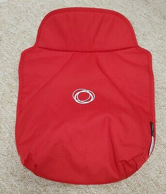 Bugaboo Donkey apron for carrycot red excellent condition 001