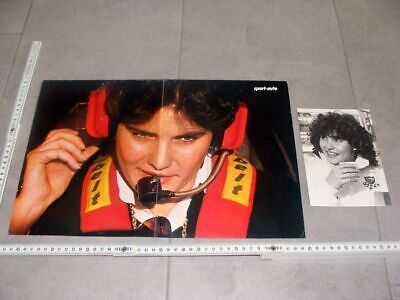 Orig. Poster & Press photo Audi quattro Rallye 1981 Michele Mouton BP RAR