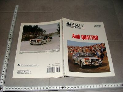 Buch Book Rally Libary No.1 Audi quattro by Graham Robson 1984 Mouton Röhrl