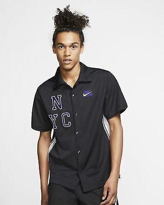 Nike Court Tennis Top Mens Black Graphic Active Wear AT4303-045