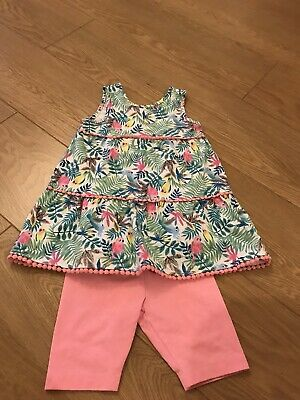 New Girls Tu Shorts And Top Set Age 2-3