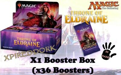 Throne of Eldraine Booster Box ~ NEW SEALED IN HAND