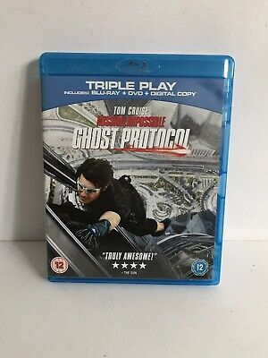 Mission Impossible: Ghost Protocol - Triple Play  Blu-ray (2012) Tom Cruise
