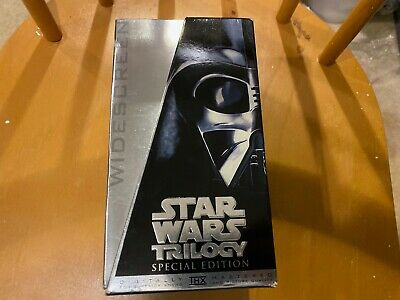 Star Wars Trilogy Special Edition 1996 Widescreen Mib Vhs