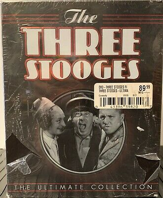 The Three Stooges ULTIMATE COLLECTION 190 Shorts 2 Films MUCH More 20-DVD Discs