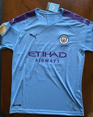 NEW WITH TAGS, Kevin De Bruyne, Manchester City Jersey, Puma Men's Large