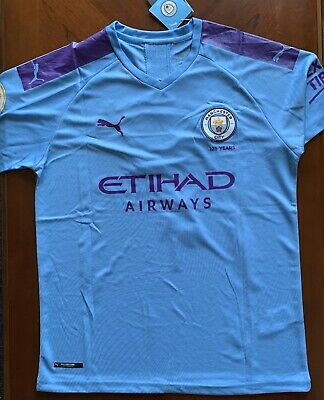 NEW WITH TAGS, Raheem Sterling, Manchester City Jersey, Puma Men's Large