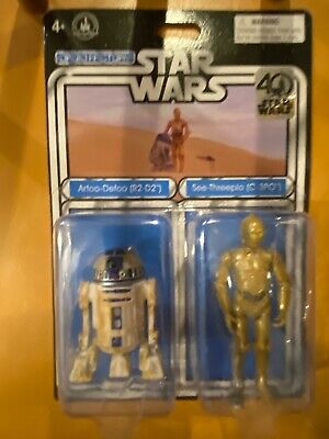 Star Wars 40Th R2 D2 & C3Po Droid Factory Disney Parks Celebration Exclusive