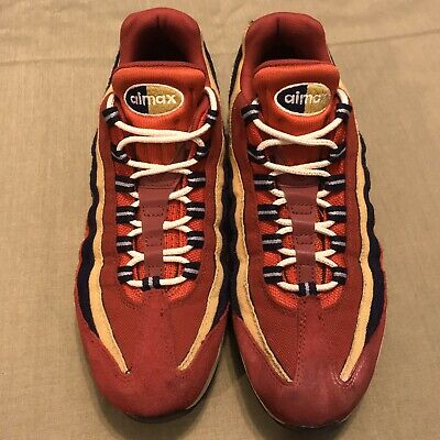 NEW! NIKE AIR MAX 95 738416 603 Red CrushProvence Purple