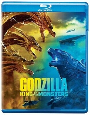 Godzilla: King of the Monster 07/19 (used) Blu-ray Only Disc Please Read