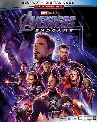 AVENGERS: ENDGAME Blu-ray Only Disc Please Read