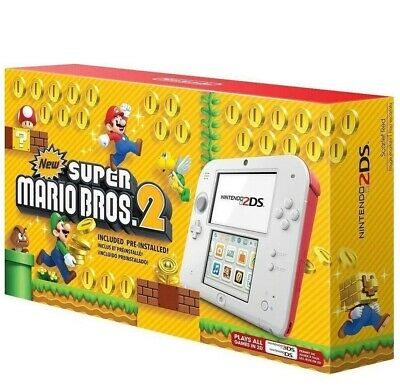 Nintendo 2DS New Super Mario Bros. 2 Edition Scarlet Red (Game INCLUDED)™