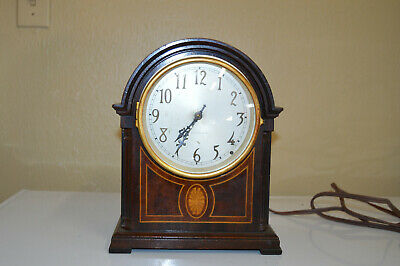 Antique Seth Thomas Mantle Beehive Clock ELECTRIC Art Deco 1940s 5 bell chime